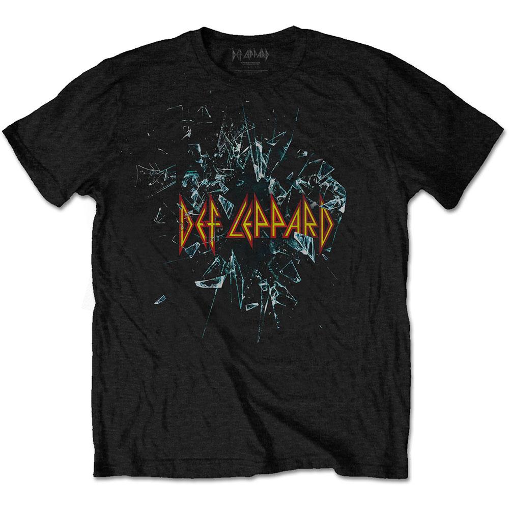 247dc3f3e5f78b Official Def Leppard Shatter Band T-Shirt