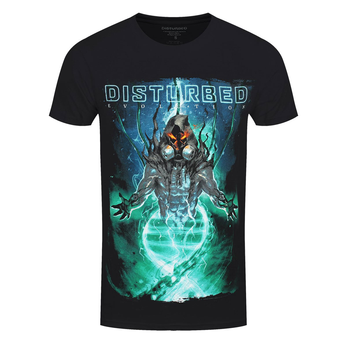 Official Disturbed DNA Swirl Band T-Shirt
