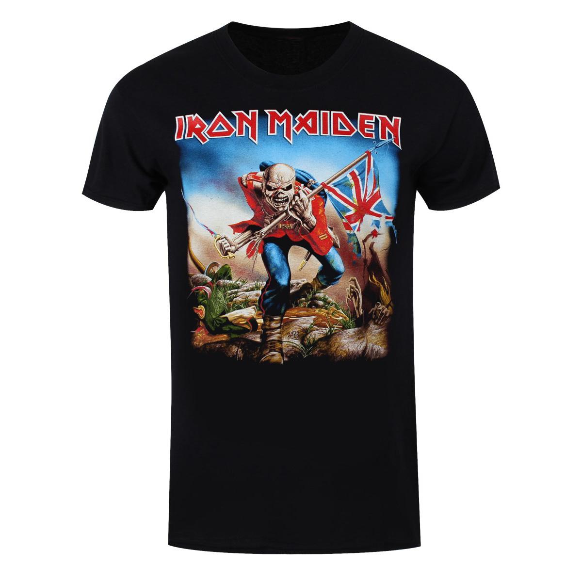 Official Iron Maiden Trooper Rock Band T-Shirt