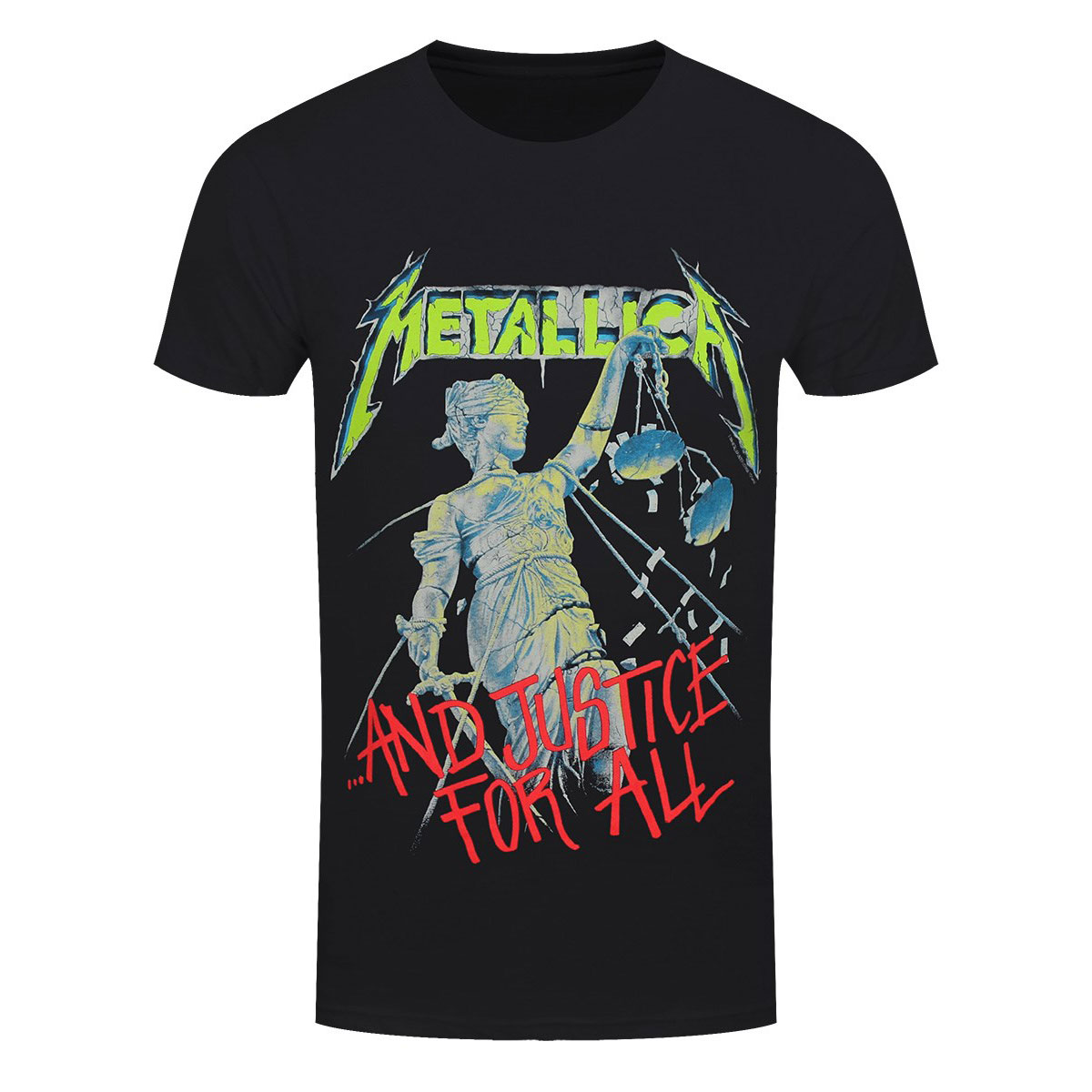 a486df74 Details about Official Metallica And Justice For All Rock Band T-Shirt