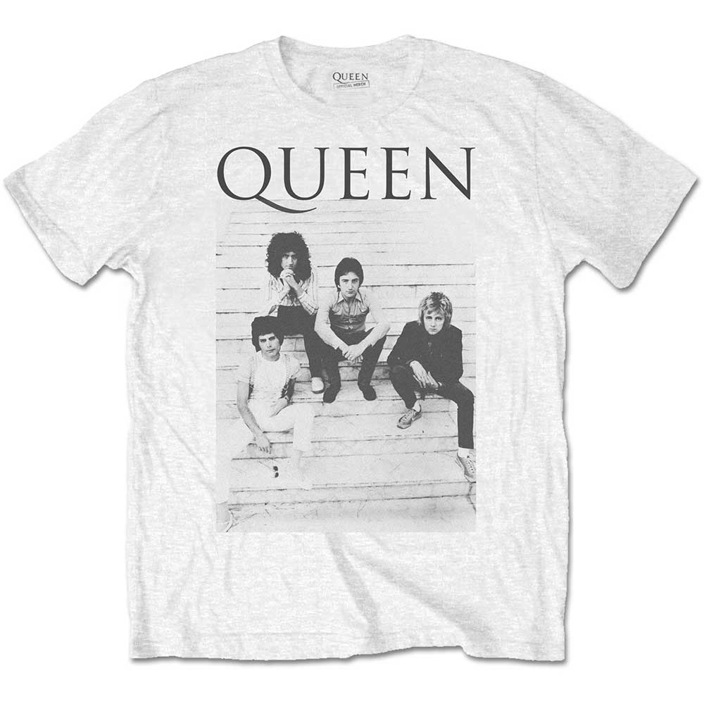 b60f7a479974 Details about Official Queen Stairs Rock Band T-Shirt
